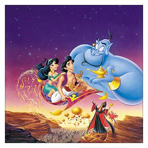 Aladdin. Размер: 60 х 60 см